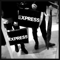 Photo taken at Express by Felicity L. on 1/22/2014