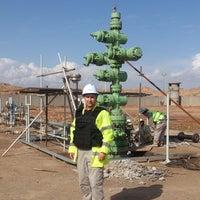 Photo taken at BD#4 Badra Oil Field by Владимир П. on 3/14/2014