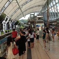 Photo taken at MTR Sunny Bay Station by Pissawat U. on 7/5/2013