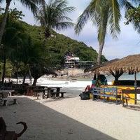Photo taken at Fairyland Club Resort Koh Phangan by Viktor Z. on 8/23/2013