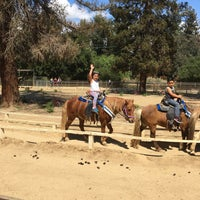 Photo taken at Griffith Park Pony Rides by Michele M. on 4/18/2017