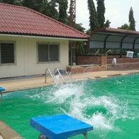 Photo taken at สระว่ายน้ำ @ เคหะร่มเกล้า by May J. on 9/8/2013