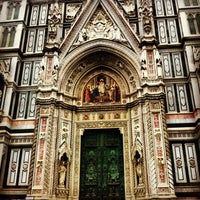 Photo taken at Cattedrale di Santa Maria del Fiore by Mattie S. on 6/11/2013