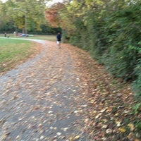 Photo taken at Mill Creek Greenway Trail by Strawberryvogue S. on 10/25/2012