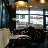 Photo taken at Express Cafe 31 by Evija I. on 11/28/2012