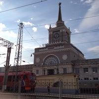 Photo taken at Пригородный вокзал by Nik K. on 6/21/2014