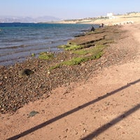 Photo taken at South Beach - Aqaba by Ghaith A. on 12/13/2012
