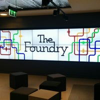 Photo taken at Google Gordon House (The Foundry) by Michael v. on 4/8/2014