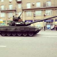 Снимок сделан в Тверская улица пользователем Marfa F. 5/3/2013