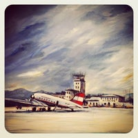 Photo taken at Salzburg Airport W. A. Mozart (SZG) by Basilisk on 2/12/2013
