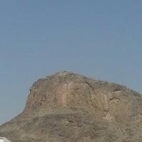 Photo taken at Al Nur Mountain - Hira Cave by Kasım B. on 2/17/2013