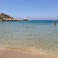 6/24/2013 tarihinde 🎀Rahsan🎀ziyaretçi tarafından Denizkızı Beach'de çekilen fotoğraf