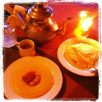 Photo taken at Kasbah - Flavors of Morocco by Mark D. on 11/16/2012