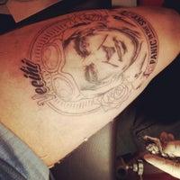 Photo taken at Tattoo Art by Murat Bilek by Aleister C. on 7/6/2013