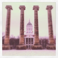 Photo taken at The Columns at Francis Quadrangle by Greg K. on 12/21/2012