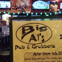 Photo taken at Big Al's Pub & Grubberia by Del R. on 4/26/2015