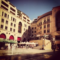 Photo taken at Nelson Mandela Square by Ralfe P. on 5/2/2013