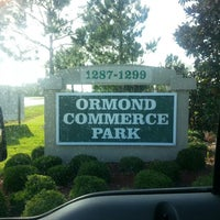 Photo taken at Ormond Commerce Park by Aaron G. on 5/31/2013