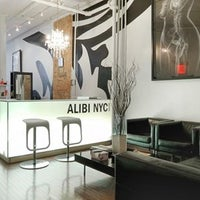 Photo taken at Alibi NYC Salon by Douglas Elliman on 7/23/2014