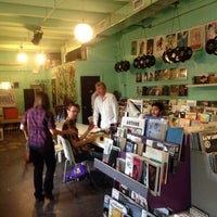 Photo taken at Sweat Records by Will L. on 9/17/2013