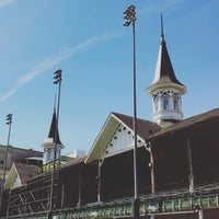 Photo taken at Churchill Downs by Matthew A. on 3/22/2016