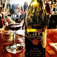 Photo taken at Carr Winery & Tasting Room by Winery E. on 5/4/2013