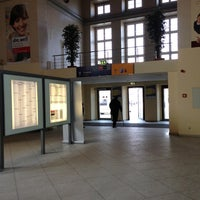 Photo taken at Bahnhof Frankfurt (Oder) by Eppy E. on 3/15/2013