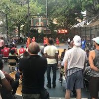 Photo taken at West 4th Street Courts (The Cage) by Mike C. on 7/12/2017
