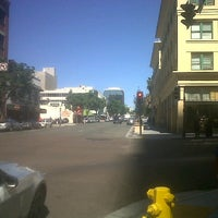 Photo taken at 5th Ave Trolley Station by Deborrah R. on 10/2/2014