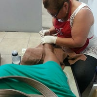Photo taken at Divine Nails by Letoya R. on 3/14/2013
