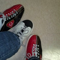 Photo taken at All Star Lanes by Lora G. on 2/24/2013
