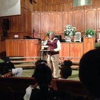 Photo taken at Greenforest Community Baptist Church by Sylvester S. on 11/22/2013
