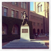 Photo taken at Tommy Trojan by Melanie N. on 10/17/2013