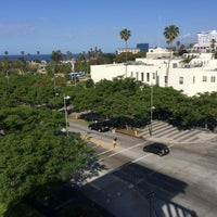 Photo taken at Santa Monica Civic Center Parking Structure by Melanie N. on 5/6/2014