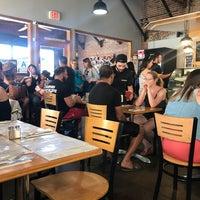 Photo taken at The Peach Café by Melanie N. on 6/25/2017