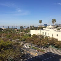Photo taken at Santa Monica Civic Center Parking Structure by Melanie N. on 4/8/2014