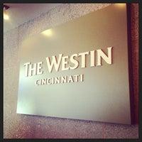Photo taken at The Westin Cincinnati by Melanie N. on 4/15/2013