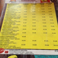 Photo taken at Queco's Burger by Adela E. on 6/15/2014