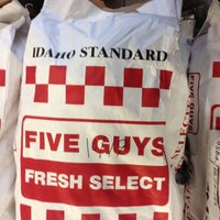 Photo taken at Five Guys by Nishant G. on 10/19/2012