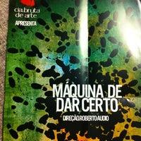 Foto tirada no(a) Teatro da Universidade de São Paulo (TUSP) por Dulce Helena Melchiori N. em 10/27/2012