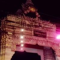 Photo taken at วัดศีรษะทอง (วัดพระราหู) Wat Sisa Thong by AnnaSuii R. on 12/10/2012