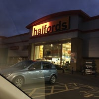 Photo taken at Halfords by Roger N. on 11/24/2016