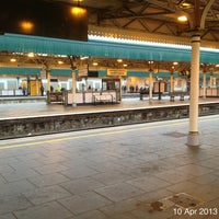 Photo taken at Cardiff Central Railway Station (CDF) by Roger N. on 4/10/2013