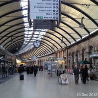 Photo taken at Newcastle Central Railway Station (NCL) by Roger N. on 12/13/2012