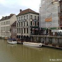 Photo taken at Het Waterhuis aan de Bierkant by Roger N. on 11/8/2012