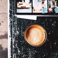 Photo taken at Kitsuné Espresso Bar Artisanal by Antoine . on 3/8/2015