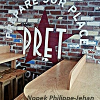 Photo taken at Prêt À Manger by NOPEQ de SCÈNEHÉMARNE on 8/8/2013