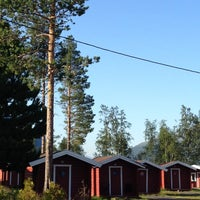 Photo taken at Bardu Camping & Turistsenter by Marc B. on 7/23/2013