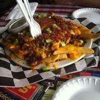 Photo taken at Huey's Restaurant by Sanne B. on 12/18/2012