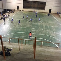 Photo taken at Polideportivo Padre Mario Gambutti by Maria E. on 9/16/2017